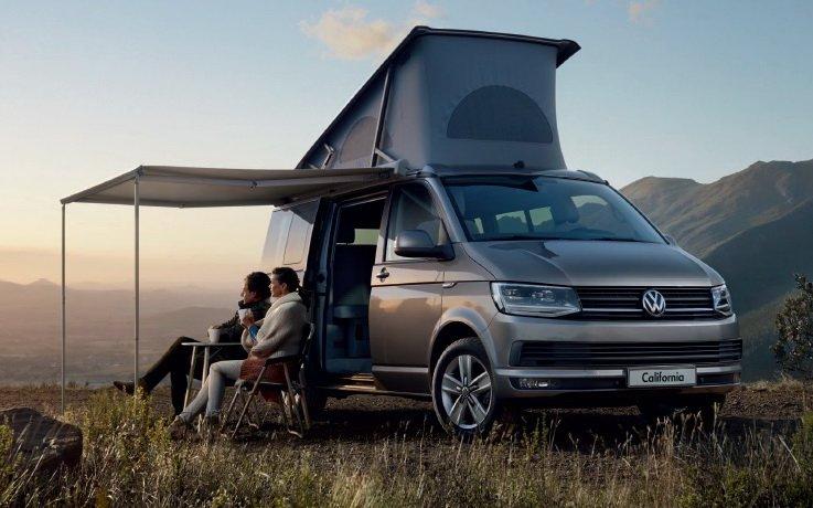 Технические характеристики Volkswagen California Минивэн 2020-2021 года