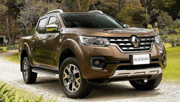 Renault Alaskan 2020-2021 года в новом кузове