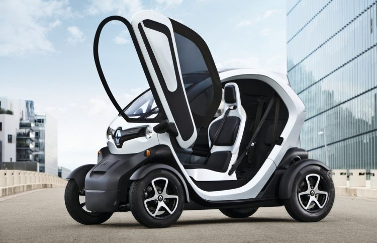 Renault Twizy 2016-2017 года