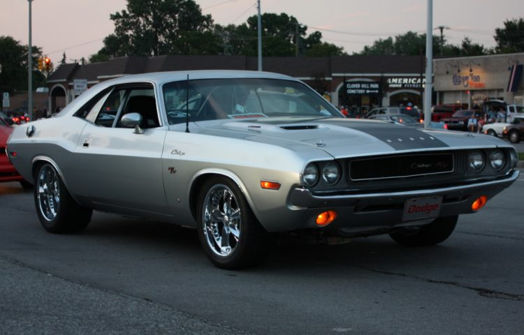 Dodge Challenger 1969 года