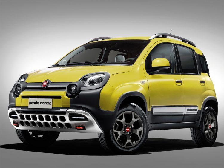 Новый Fiat Panda Cross 2016-2017