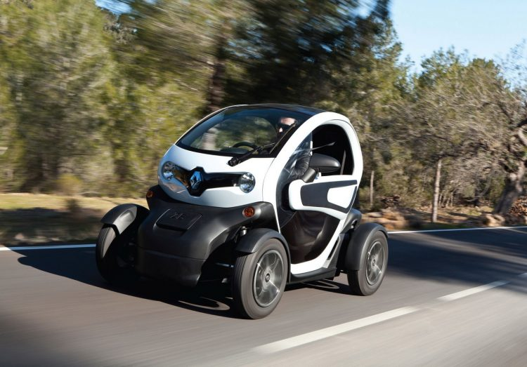 Технические характеристики электромобиля Рено Твизи