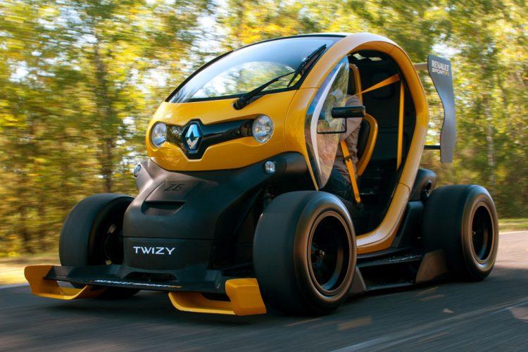 Скоростной Renault Twizy Sport