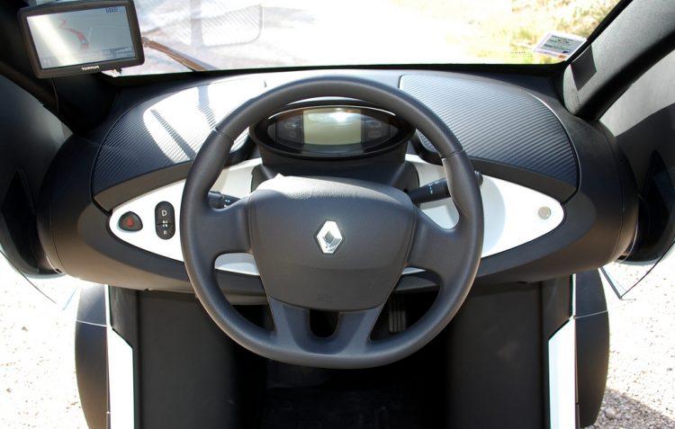 Фото салона Renault Twizy
