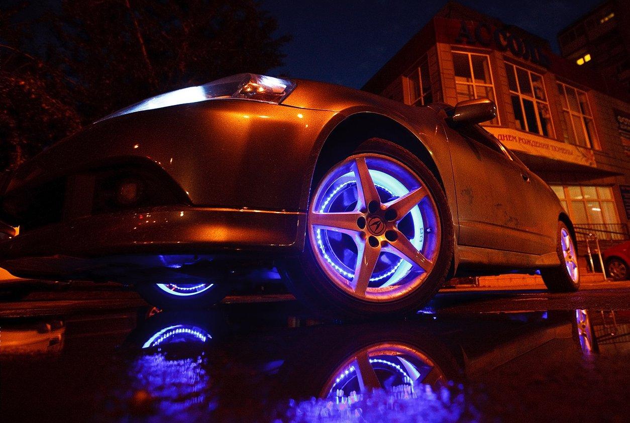 схема подключения подсветка днища автомобиля led rgb