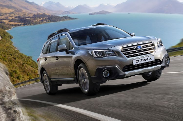 Subaru Outback 2016 года в новом кузове