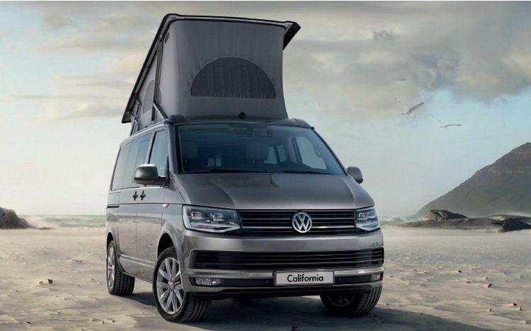 Новый Volkswagen California 2020-2021 года