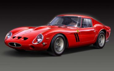 Ferrari 250 GTO - выпущено всего 36 штук