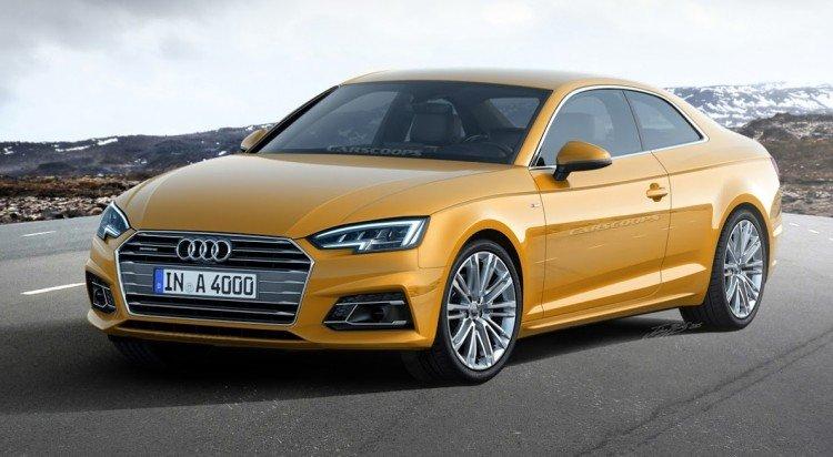 На фотоснимке Audi A5 Coupe 2020-2021 модельного года