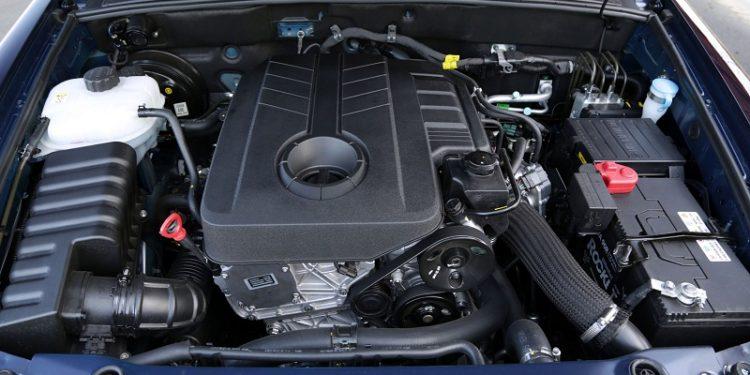 Под капотом дизельный двигатель от Мерседес