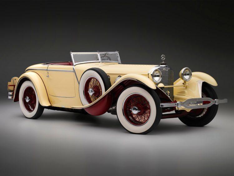 На фото Mercedes-Benz 680S 1928 года
