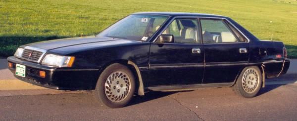 1990 Mitsubishi Sigma фото