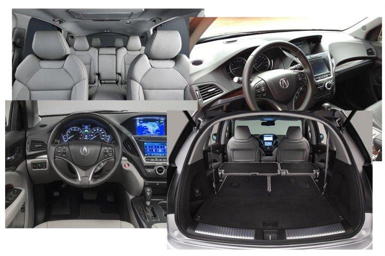 Acura MDX фото салона
