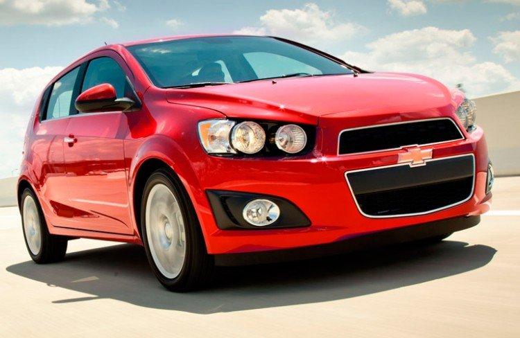 На фото - Chevrolet Aveo 2020-2021 года