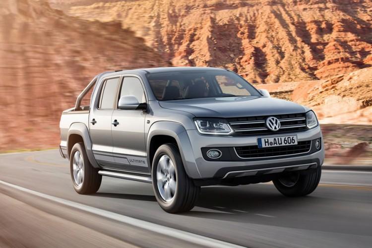 Volkswagen Amarok 2016-2017 на фото