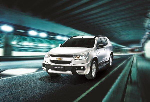 Комплектации Chevrolet TrailBlazer 2016-2017 года