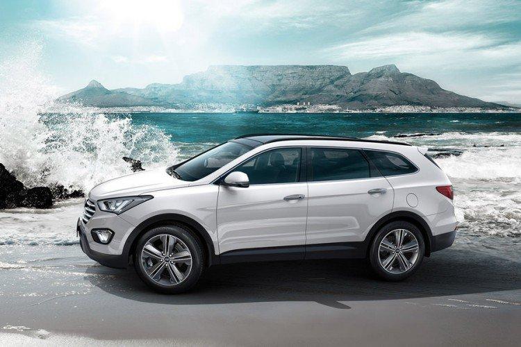 Hyundai Santa Fe 2015 года