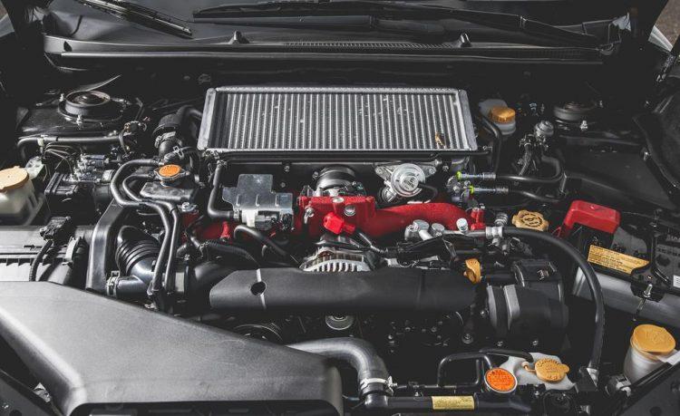 Турбированный двигатель Субару WRX STI