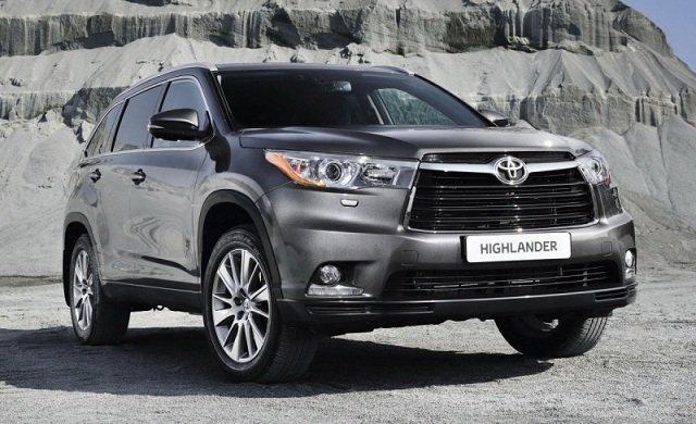 Внешний вид Toyota Highlander[