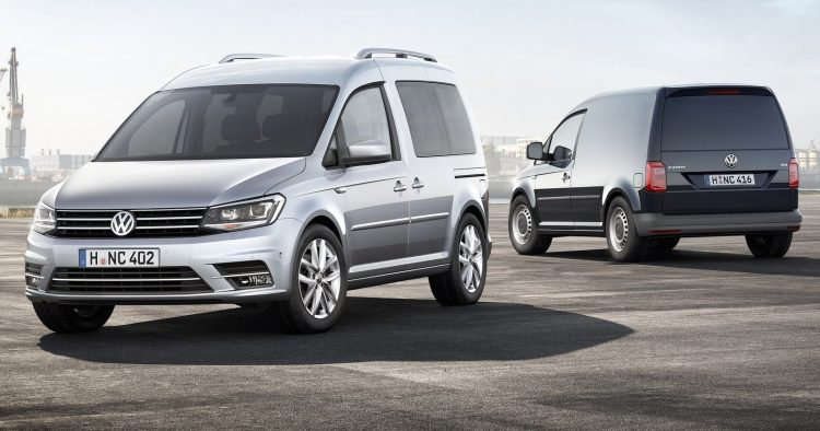 Volkswagen Caddy 2016 года