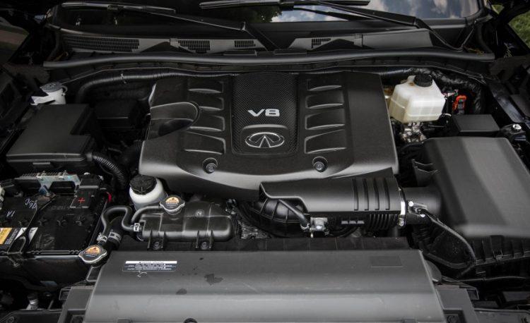 Прожорливый и мощный двигатель V8