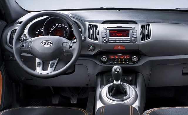 Салон автомобиля Kia Sportage 2020-2021