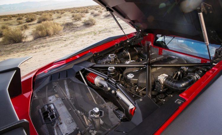 Двигатель мощностью в 750 л.с.
