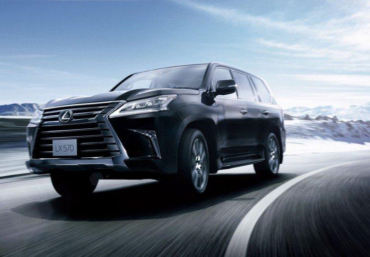 Элегантные и узнаваемые очертания Lexus lx 570 2020-2021 new