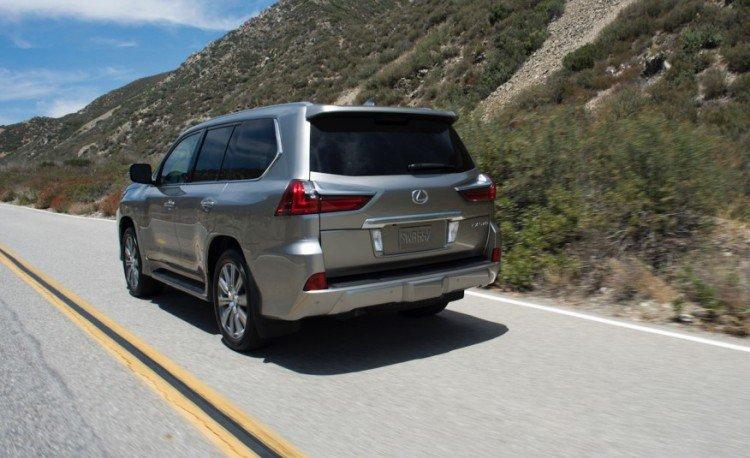 О недостатках внедорожника Lexus lx 570 2017-2018 new