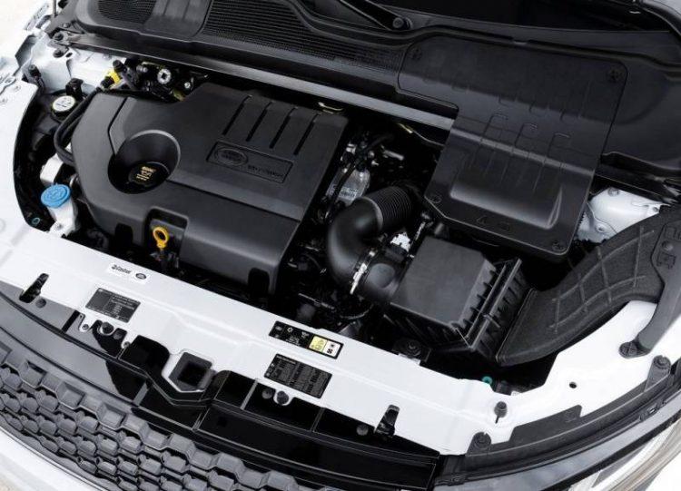 Технические характеристики двигателя Range Rover Evoque 2016-2017 года
