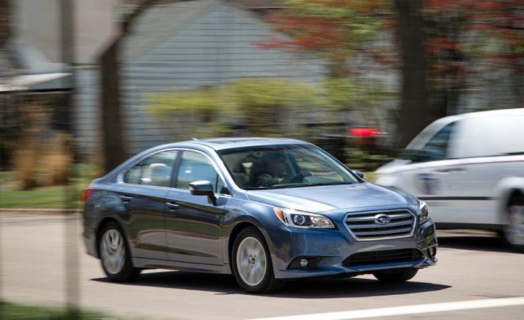 Обновленный Subaru Legacy 2016-2017 года