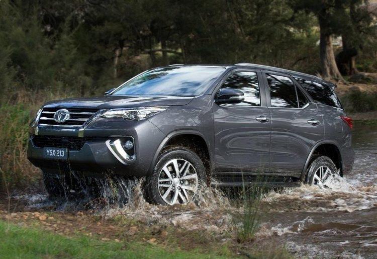 Комплектации и цены Тойота Фортунер 2020-2021 года