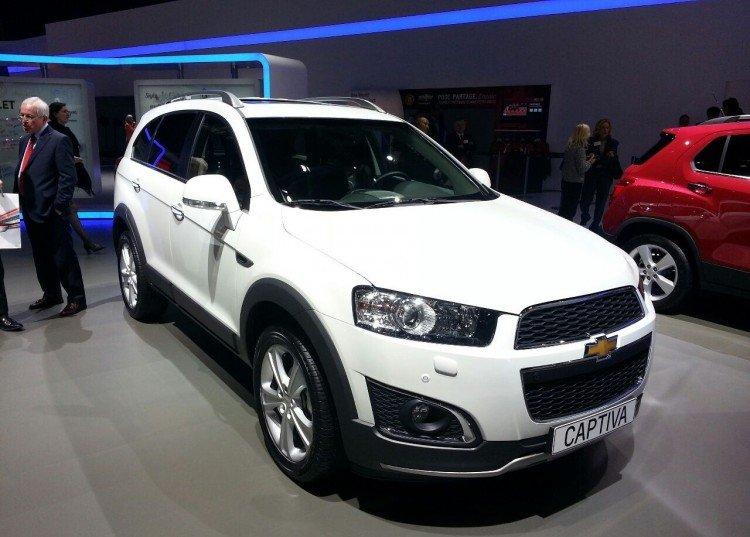 Комплектации Chevrolet Captiva 2020-2021