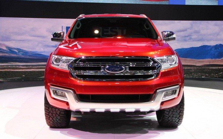 Фотоснимок нового  Ford Ranger 2016-2017 года