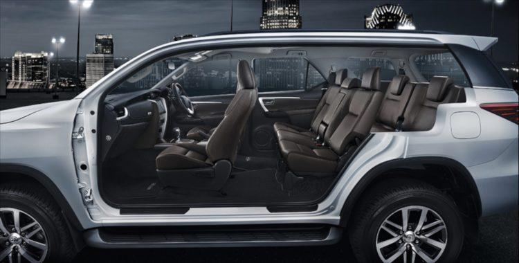 Комплектации Тойота Фортунер 2020-2021 года