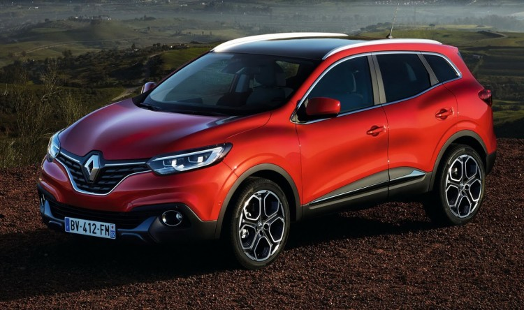 На фото - внешний вид Renault Koleos
