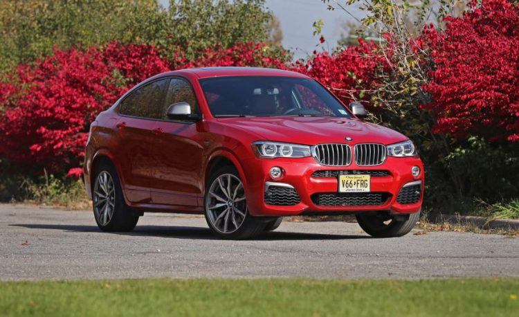 BMW X4 M40i 2017 модельного года