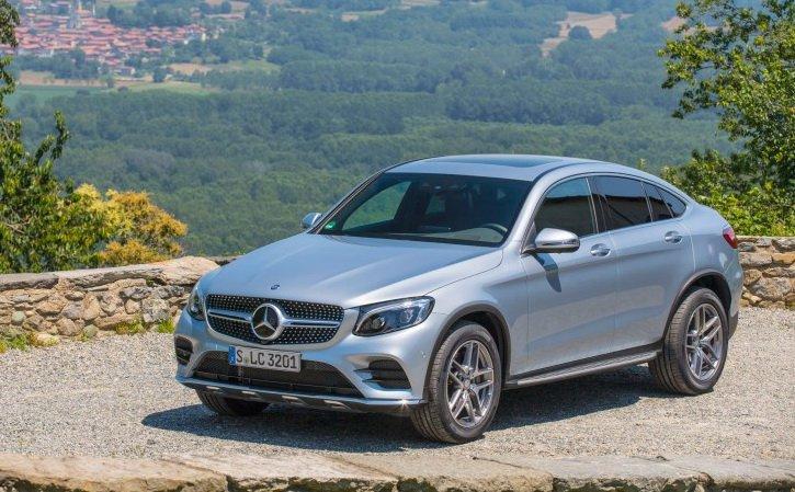 Mercedes-Benz GLC 300 4MATIC Coupe 2020-2021 года