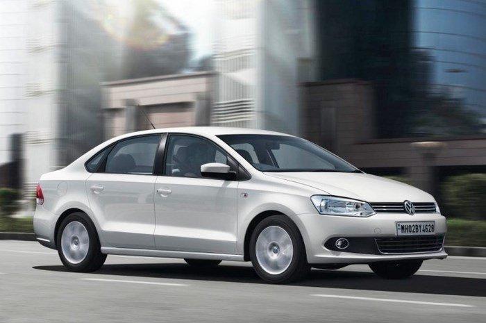 На фотоснимке - Volkswagen Polo sedan 2020-2021