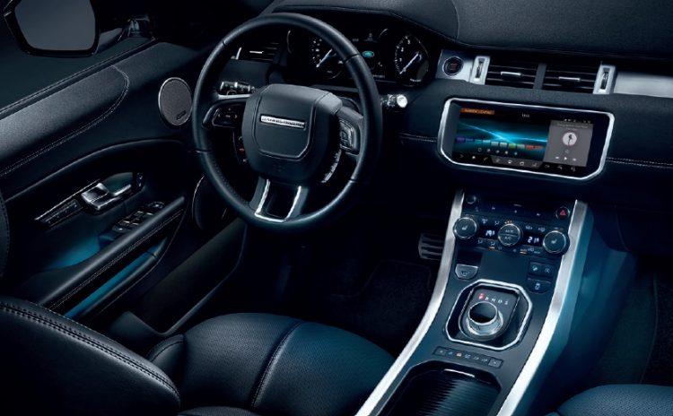 Фото интерьера Range Rover Evoque 2016-2017 года