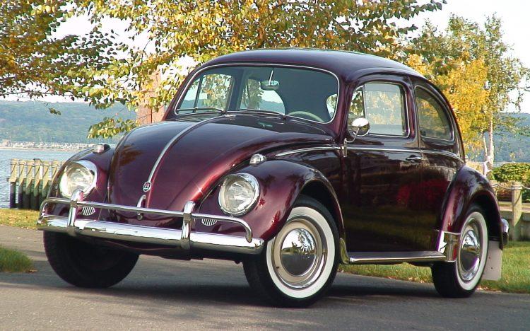 Volkswagen Beetle 50-х годов прошлого столетия