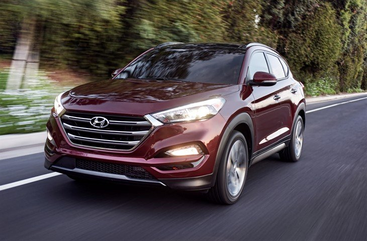 Hyundai Tucson 2016-2017 модельного года