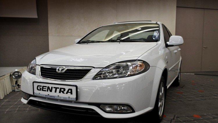 Фотоснимок нового автомобиля Daewoo Gentra 2020-2021