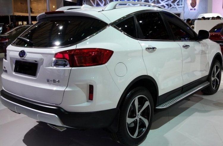 Лифан Х80 2016-2017 года в новом кузове
