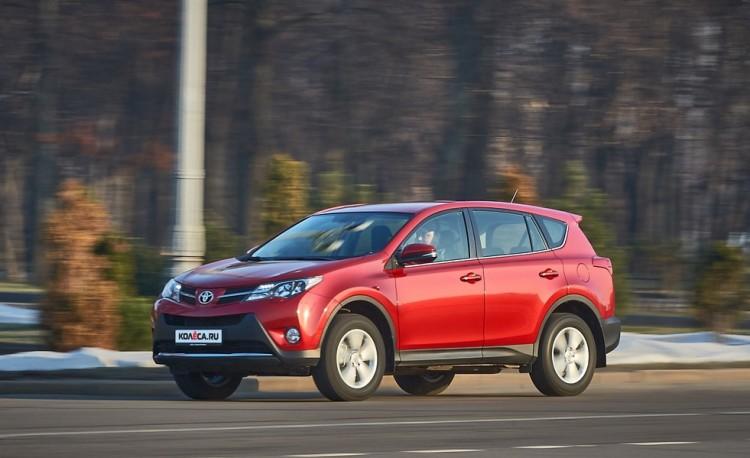 Результаты тест-драйва Toyota RAV 4 2020-2021 года