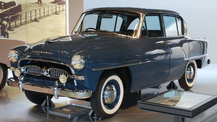 С этой Тойоты Кроун 1955 года началась славная история седана