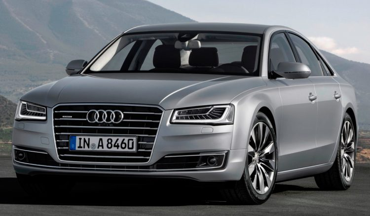 Audi A8 2020-2021 года выпуска