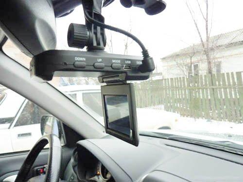Видеорегистратор на борту автомобиля