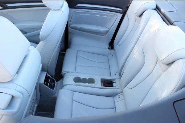 Audi A3 Cabriolet-вместительный салон