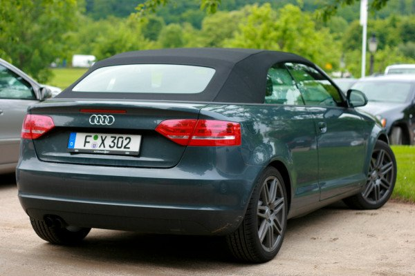 Audi A3 Cabriolet-внешний взгяляд на авто